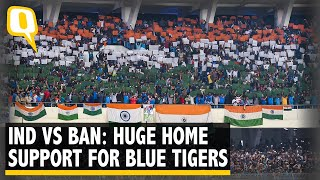 Huge Home Support for India Ahead of 2022 FIFA WC Qualifier Tie vs B'desh | The Quint