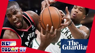 Bucks inch closer to NBA finals with dominant Game 2 win over Raptors