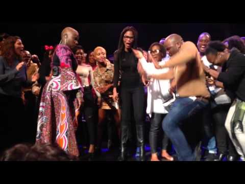 Angelique Kidjo performs with Asa