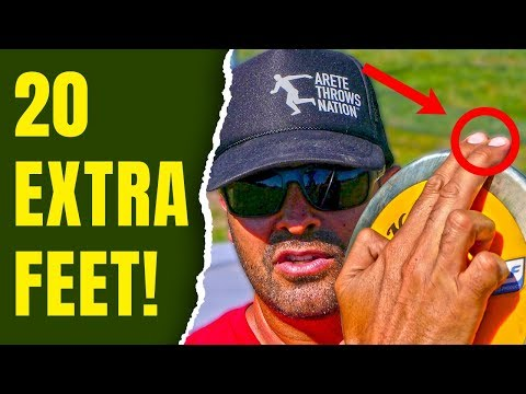 HOW TO FLY THE DISCUS | RELEASE & GRIP | 20 EXTRA FEET