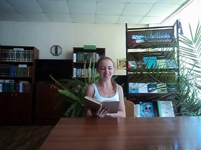 Изображение предпросмотра прочтения – ЯнаГецел читает произведение «Гой ты, Русь, моя родная!..» С.А.Есенина