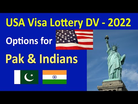 USA: GREEN CARD LOTTERY Options for Indians and Pakistanis // US Visa Lottery Explained