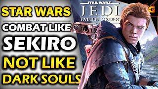 STAR WARS JEDI FALLEN ORDER | NEWS GAMEPLAY Will Be Similar To SEKIRO, NOT Like DARK SOULS!