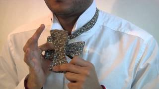 bow tie tutorial how to tie a bow tie by bowyer fletcher