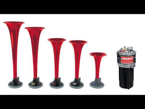 Dixie Musical Air Horn