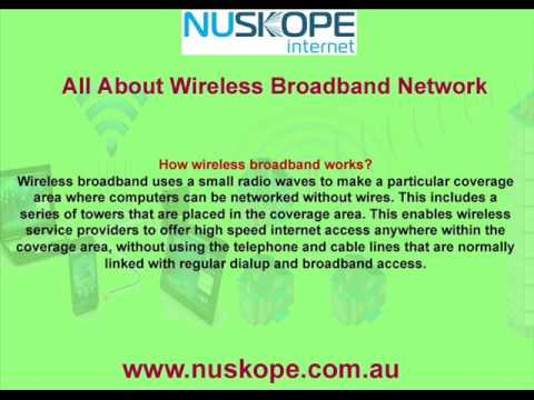 Wireless Broadband - Broadband Internet Providers In Australia