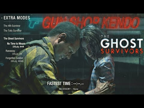 Resident Evil 2 Remake - Ghost Survivors DLC Time To Mourn Gameplay Walkthrough (PS4 Pro)