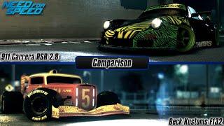 Need For Speed 2015: Porsche 911 Carrera RSR 2.8 vs. Beck Kustoms F132