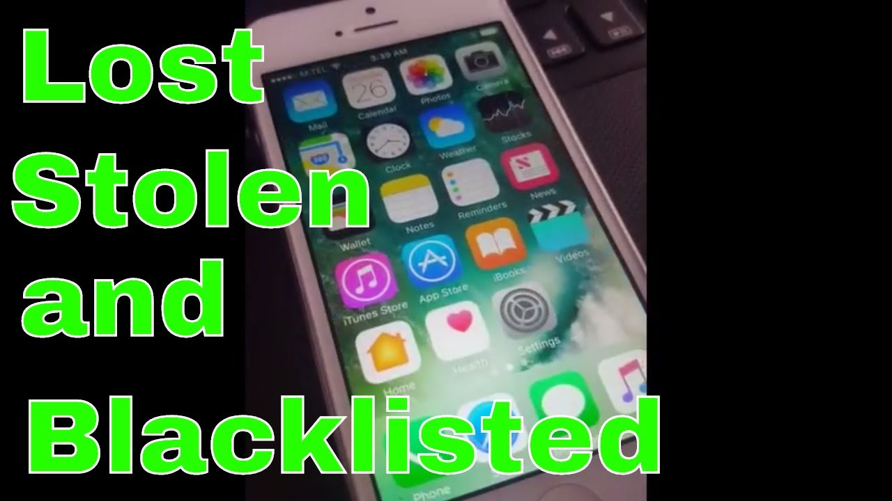 Lost and Stolen Blacklisted iOs 11 iCloud Unlock