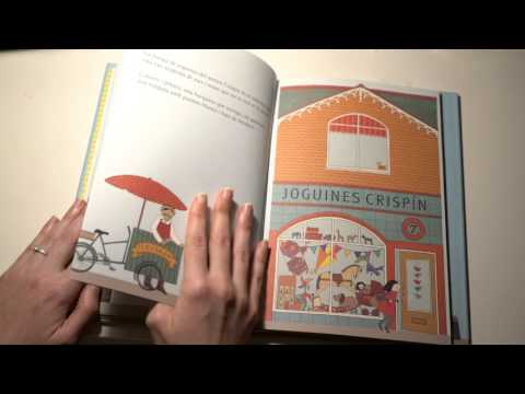 ASMR Reading Bedtime Story in Catalan | Whispering | Thick Pages | LITTLE WATERMELON