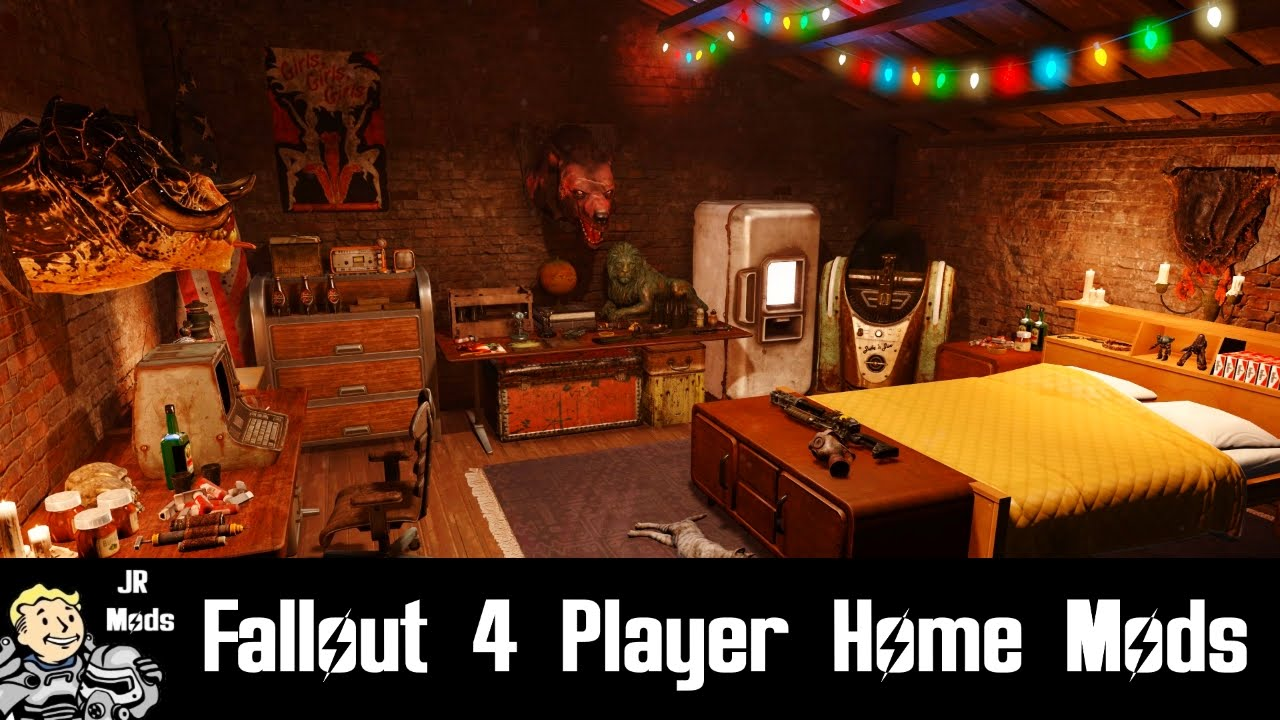 Fallout 4 player home mods underhouse bunker 13 for Best house designs fallout 4