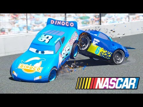 CARS DINOCO MCQUEEN NASCAR RACING (Dinoco Lightning Mcqueen)