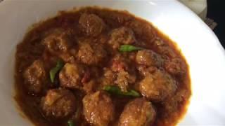 গরুর মাংসের কোফতা কারি ।। Beef Kofta Curry ।। Meatball Curry ।। Kofta Recipe ।। কোফতা