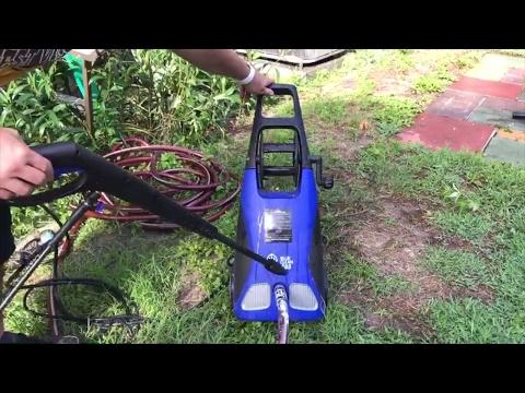 AR Blue Clean AR383 Electric Pressure Washer Demo