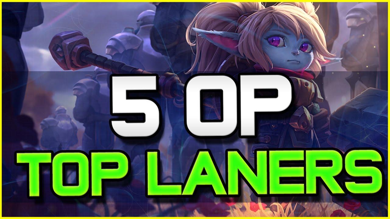 5 OP TOP LANERS - Patch 6.5 | League of Legends