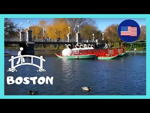 BOSTON: America's Oldest 🏞️🍂 Park (Boston Common), Scenic Autumn Views! (USA)