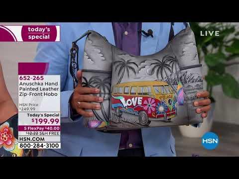 HSN | Anuschka Handbags Premiere. http://bit.ly/2tFbjqf