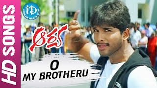 Arya Telugu Movie - O My Brotheru video song - Allu Arjun || Anu Mehta || Sukumar