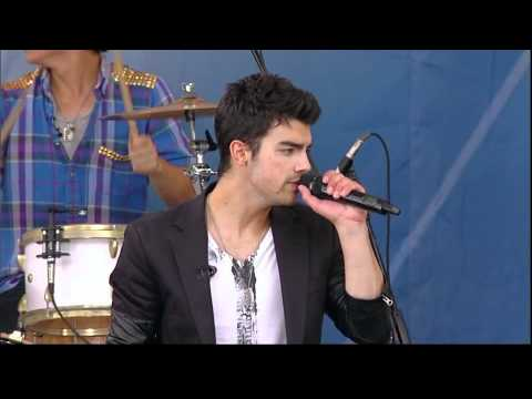 Camp Rock 2 - Wouldn't Change A Thing (Good Morning America)