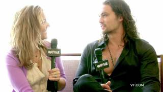 Vanity Fair interview with Jason Momoa at Comic Con 2011