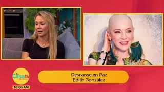 ¡Muere la actriz Edith González! Descanse en Paz