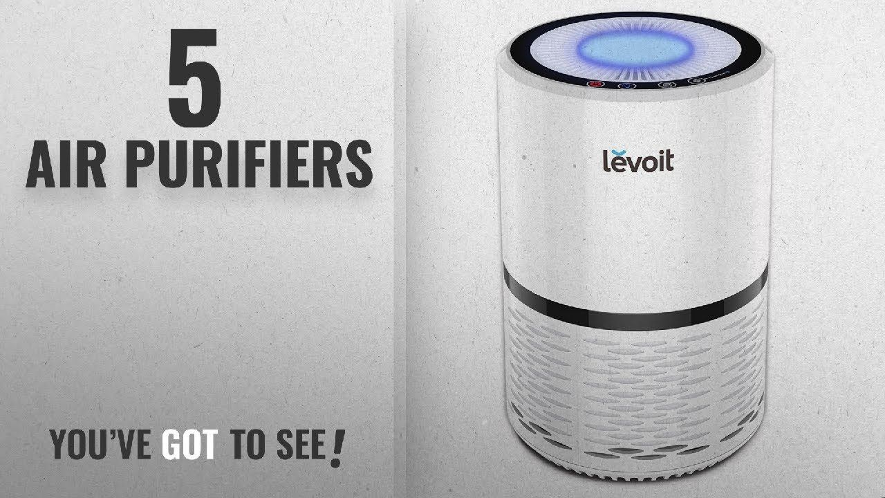 top 10 air purifiers 2018 levoit air purifier with true hepa active carbon filters compact. Black Bedroom Furniture Sets. Home Design Ideas