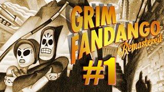 Grim Fandango Remastered Walkthrough FR Episode 01 Let