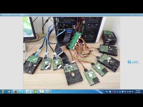 DFL WD HDD Repair Ultimate DFL Auto Servo Demo - YouTube