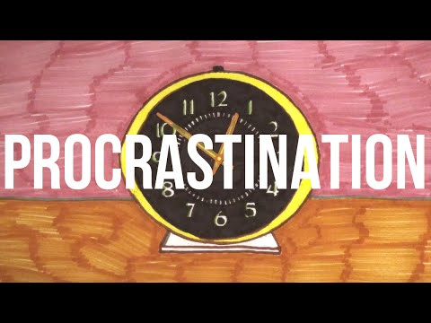 Alain de Botton explains the root of procrastination