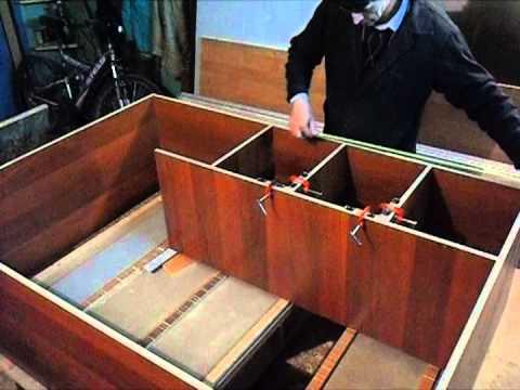 видео: Сборка мебели с самодельной струбциной. Часть 2. homemade clamp. rart 2.