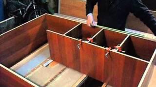 Сборка мебели с самодельной струбциной. Часть 2. Homemade clamp. Rart 2.(Струбцины изготовлены из бука., 2013-03-31T16:28:28.000Z)