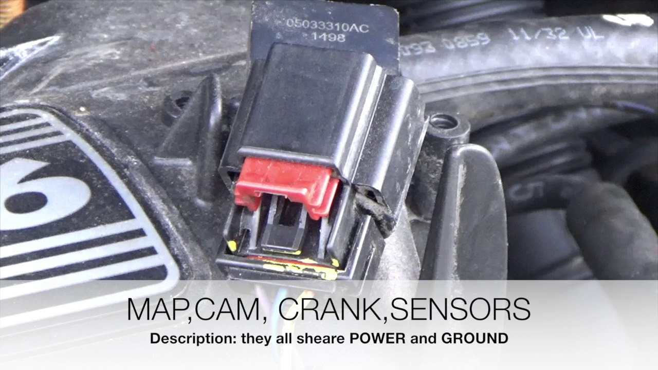 P0340 Camshaft Position Sensor A Bank 1  YouTube