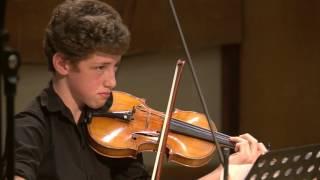 Debussy / String Quartet in G minor / Goldman Programme / Jerusalem Music Centre
