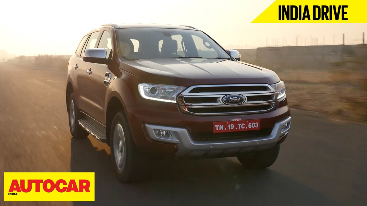 Ford Endeavour India Drive Autocar India Youtube