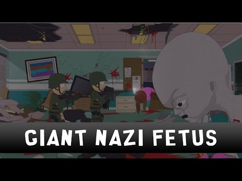 South Park: The Stick of Truth - Boss Fight - Giant Nazi Zombie Fetus
