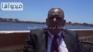الدكتور محمود ميدان عميد كلية طب الازهر بدمياط الجديده فى حديث لوكالة انباء الشرق الاوسط