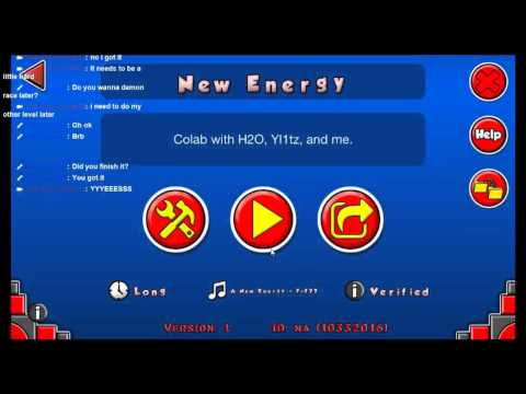 New Energy by H2O, YI1TZ, and RKid (me) on Stream