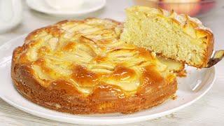 Потрясающий яблочный пирог. Бисквитная шарлотка. Рецепт от Всегда Вкусно!
