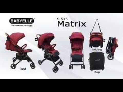 Tutorial Memasang  Stroller Matrix By BabyElle - Kereta Dorong Bayi