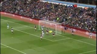 Aston Villa 3-1 Blackburn | The FA Cup 4th Round - 29/01/11
