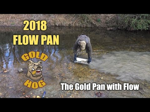 New Portable FlowPan the Gold Pan with Flow