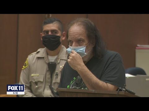 Adult film star Ron Jeremy indicted on more than 30 counts of sexual assault