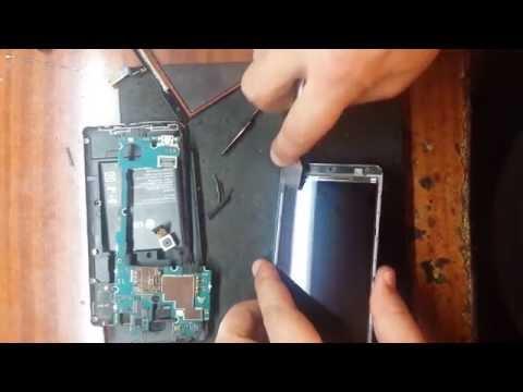 LG Optimus L9 II D605 меняем touchscreen