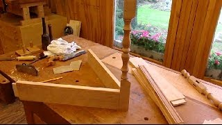 Drop Leaf Cherry Table   Stretchers And Fitting Step 3
