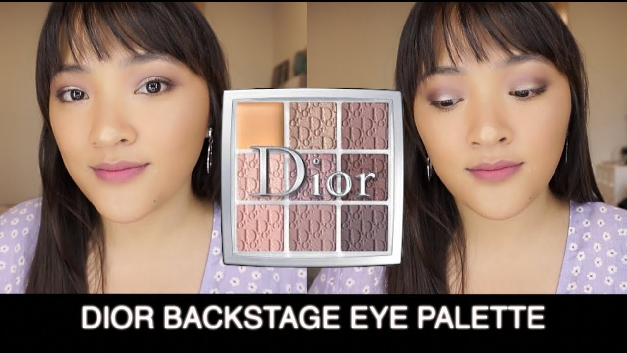 Review 💜 Dior Backstage Eye Palette 002 Cool Neutrals