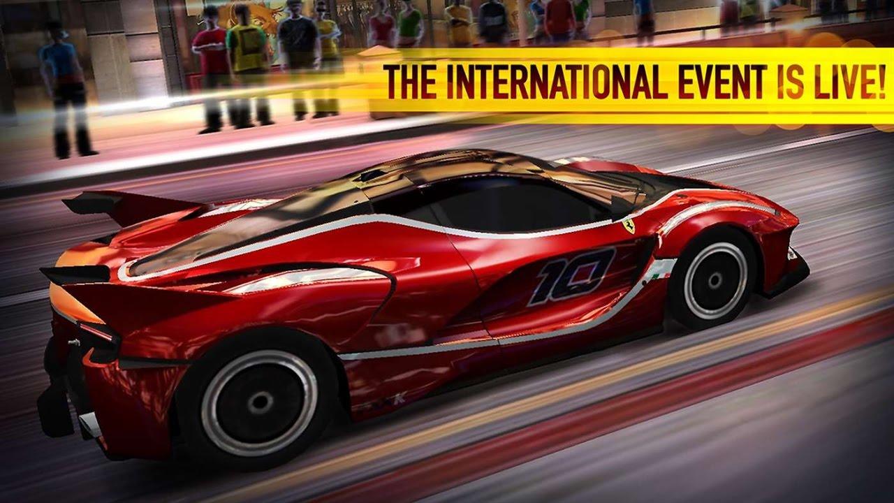 Free 3d Ferrari Live Wallpaper For Android Csr Racing Car Racing Games Drag Race Videos Games For