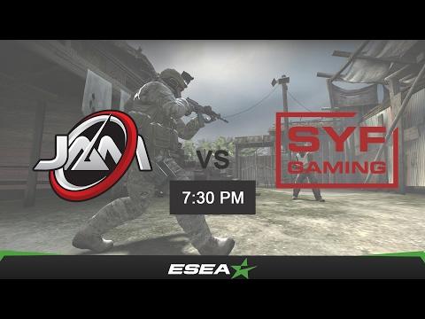 [CSGO VOD] ESEA Premier Season 24 Australia - JAM Gaming vs SYF Gaming (de nuke)
