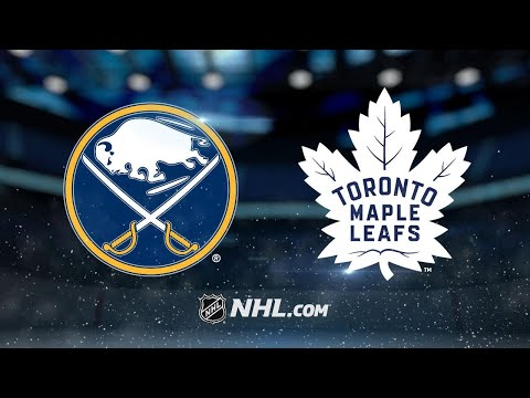 Eichel scores twice as Sabres edge Maple Leafs, 3-2