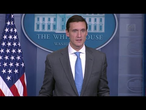 Tom Bossert  - Briefing on Puerto Rico Relief Efforts