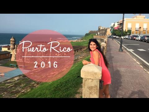 Fui a la segunda playa mas linda del mundo! PUERTO RICO 2016  |  VLOG 01